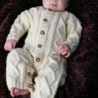 Eileen Casey - Baby Aran Body Suit