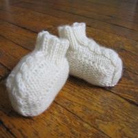 Eileen Casey - Baby Aran Booties