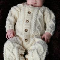 Eileen Casey - Baby Aran Body Suit 5