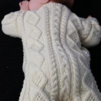 Eileen Casey - Baby Aran Body Suit 7