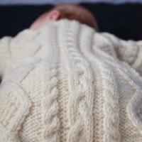 Eileen Casey - Baby Aran Body Suit 4
