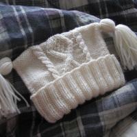 Eileen Casey - Baby Aran Hat