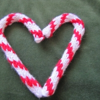 Eileen Casey - Candy Cane Christmas Ornament 2