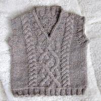 Eileen Casey - Little Man Vest Front