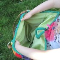 Over the Rainbow Bag Interior