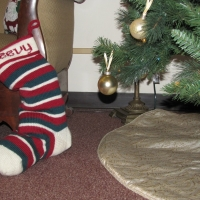 Eileen Casey - Personalised Christmas Stocking 6
