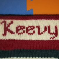 Eileen Casey - Personalised Christmas Stocking 2