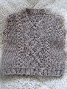 Eileen Casey - Little Man Vest Thumbnail